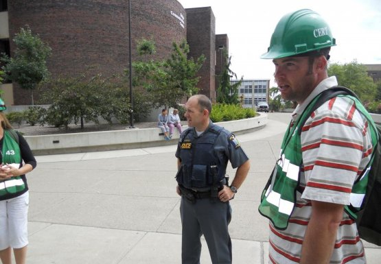 UPD Rick Myers directs the team