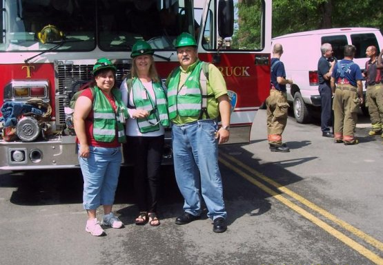 CERT members after drill